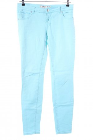 FB Sister Five-Pocket Trousers turquoise casual look