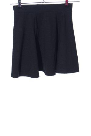 FB Sister Flared Skirt black elegant