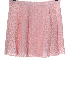 FB Sister Glockenrock pink-weiß Allover-Druck Casual-Look