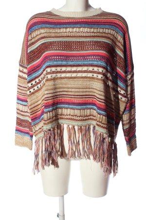 FB Sister Szydełkowany sweter Melanżowy W stylu casual