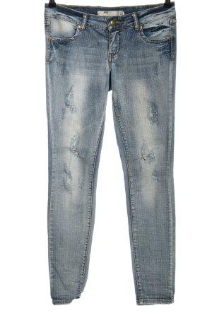 FB Sister Slim Jeans blue casual look