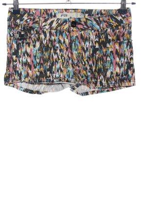 FB Sister Hot Pants abstraktes Muster Casual-Look