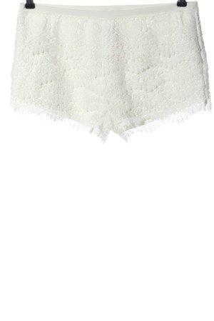FB Sister Krótkie szorty biały W stylu casual