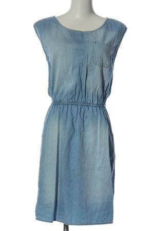FB Sister Jeansowa sukienka niebieski W stylu casual