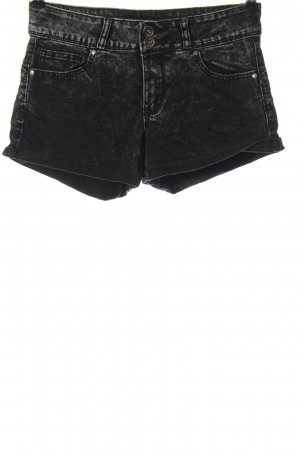 FB Sister Jeansshorts schwarz Casual-Look