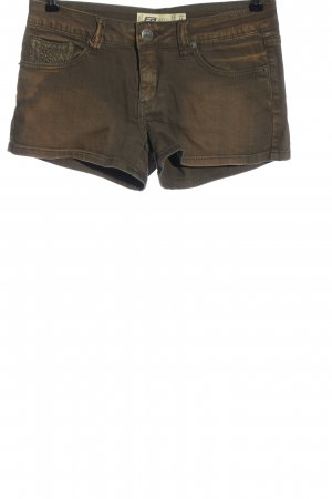 FB Sister Jeansshorts braun Casual-Look