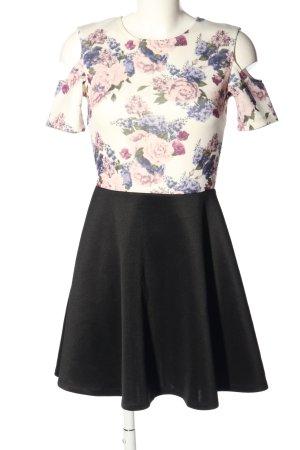FB Sister Jersey Dress flower pattern casual look