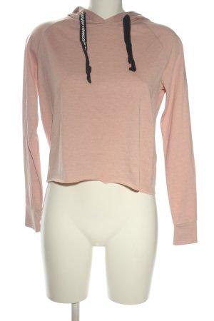 FB Sister Camicia con cappuccio rosa puntinato stile casual
