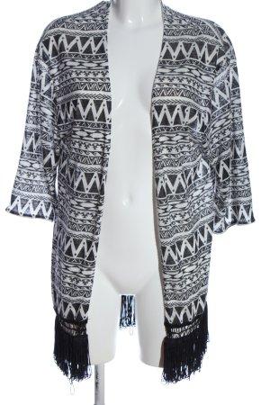 FB Sister Jersey kimono estampado gráfico look casual