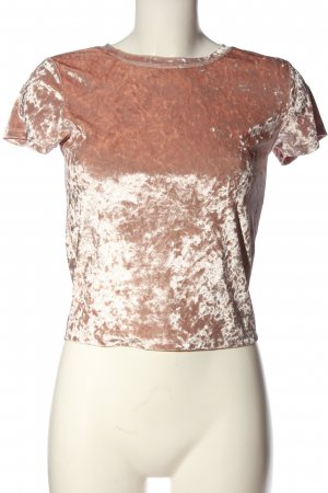 FB Sister Kurzarm-Bluse pink Casual-Look