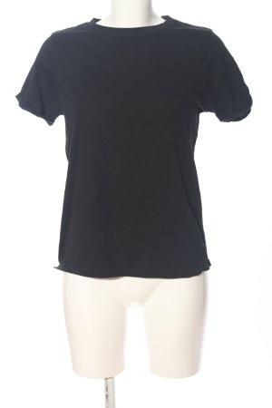 FB Sister Camisa de manga corta negro look casual