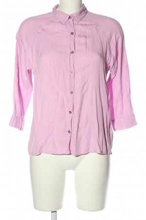 FB Sister Langarm-Bluse pink Casual-Look