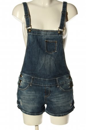 FB Sister Dungarees blue casual look