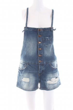 FB Sister Jeans met bovenstuk blauw casual uitstraling