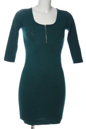 FB Sister Mini Dress green casual look