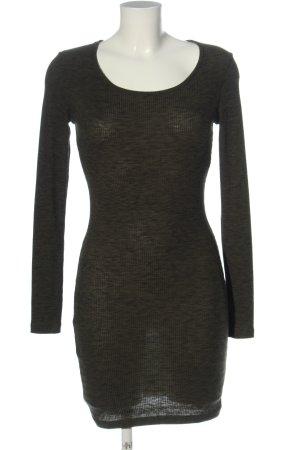 FB Sister Mini Dress khaki flecked casual look
