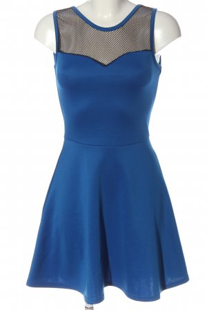 FB Sister Mini Dress blue-black casual look