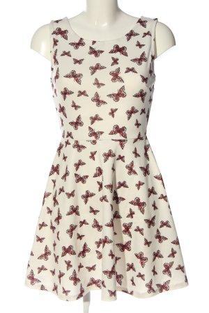 FB Sister Mini Dress allover print casual look