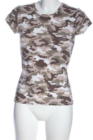 FB Sister Camiseta estampada estampado repetido sobre toda la superficie