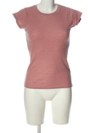 FB Sister Ribbed Shirt pink casual look