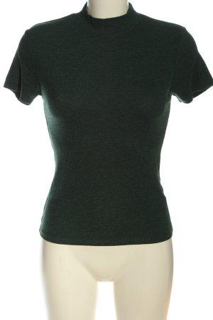 FB Sister Colshirt khaki gestippeld casual uitstraling