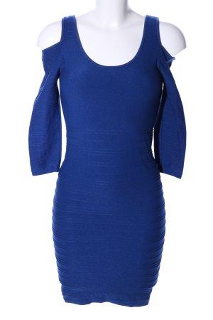 FB Sister Schlauchkleid blau Elegant