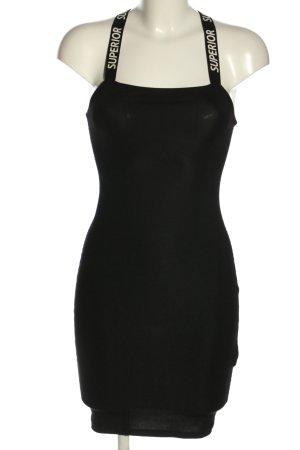 FB Sister Sukienka tuba czarny W stylu casual