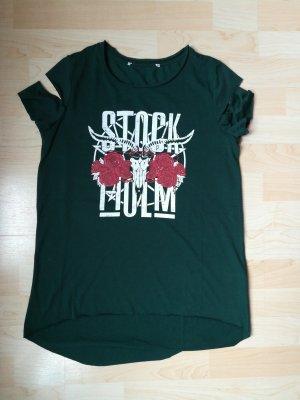 FB Sister T-shirt donkergroen