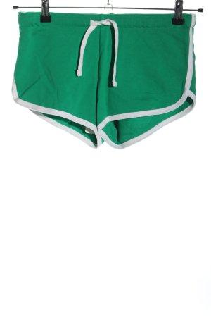 FB Sister Shorts grün-weiß Casual-Look