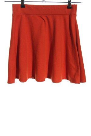 FB Sister Skaterska spódnica jasny pomarańczowy W stylu casual
