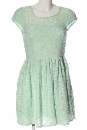 FB Sister Spitzenkleid grün Elegant