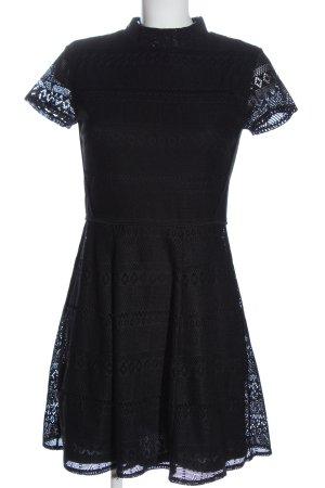 FB Sister Spitzenkleid schwarz Elegant