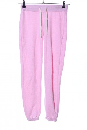 FB Sister Sporthose pink meliert Casual-Look