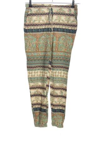 FB Sister Pantalon en jersey motif abstrait style décontracté