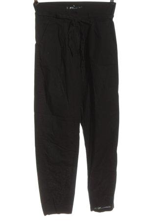 FB Sister Pantalon en jersey noir style décontracté