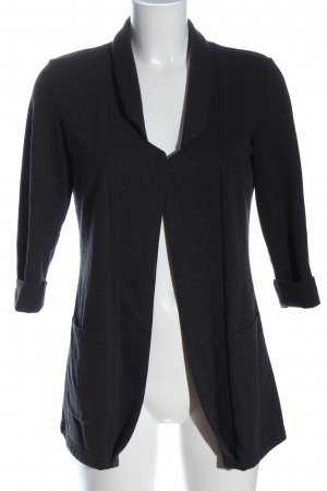 FB Sister Knitted Blazer black casual look