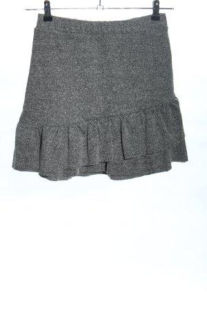 FB Sister Gonna lavorata a maglia grigio chiaro puntinato stile casual