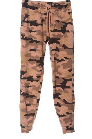 FB Sister Pantalon de jogging motif de camouflage style décontracté