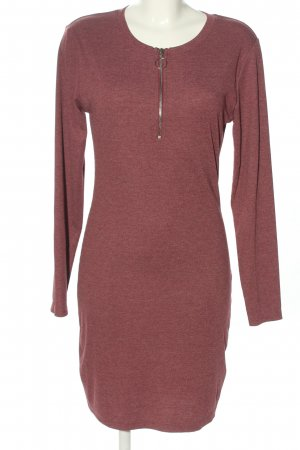 FB Sister Sweat Dress red flecked casual look
