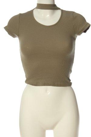 FB Sister T-Shirt braun Casual-Look