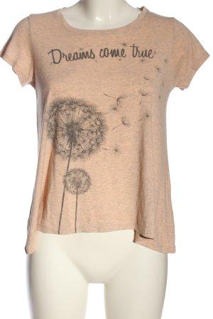 FB Sister T-Shirt nude-hellgrau meliert Casual-Look
