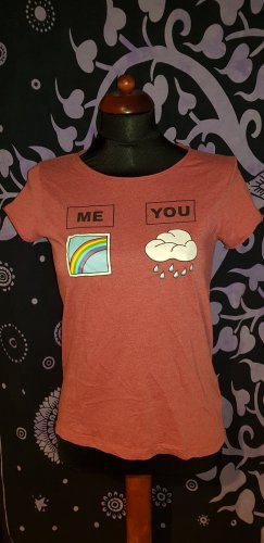 FB Sister T-shirt mit Statement Me You