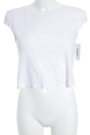 FB Sister T-Shirt weiß sportlicher Stil
