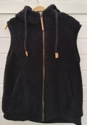 FB Sister Fake Fur Vest black