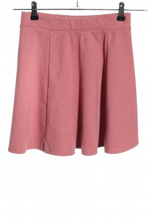 FB Sister Circle Skirt pink flecked casual look