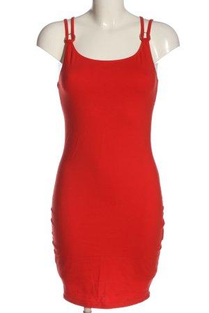 FB Sister Pinafore dress red casual look