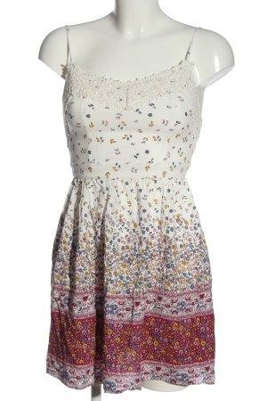 FB Sister Pinafore dress allover print casual look