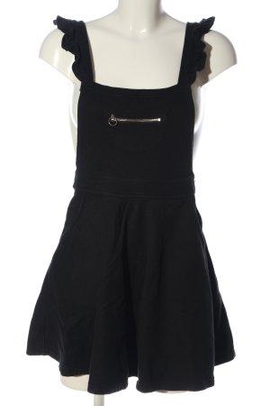FB Sister Pinafore dress black casual look