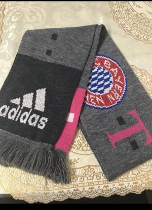 Adidas Knitted Scarf grey-red