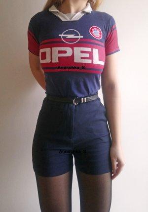 FC Bayern München Retro Shirt Fanshirt Vintage rar 90s 90er Fußball girlie Poloshirt